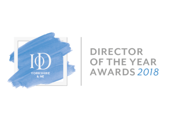 Executive Business Unit Director Nick Oates wins IoD Yorkshire & North East's New Director of the Year Award